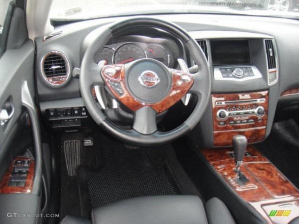 Charcoal Interior 2009 Nissan Maxima 3 5 Sv Premium Photo