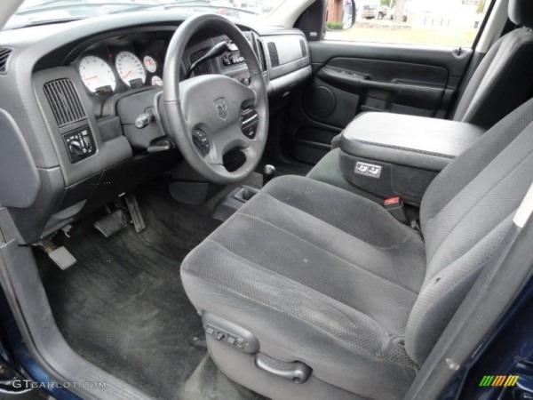 Dark Slate Gray Interior 2002 Dodge Ram 1500 Slt Quad Cab 4x4