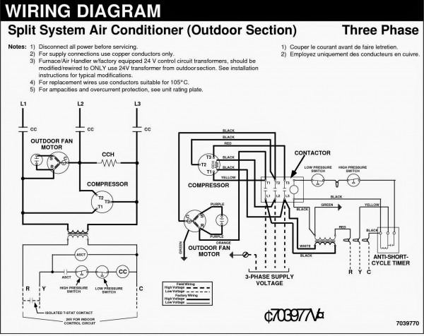 Blue Star Air Conditioner Wiring Diagram