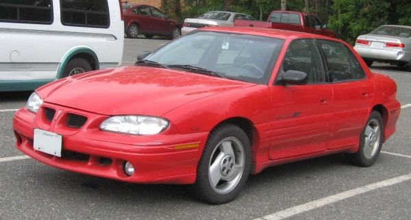 1998 Pontiac Grand Am Se Coupe Vin Number Search