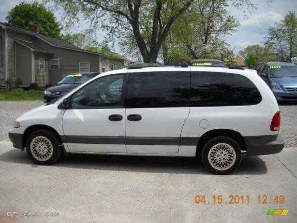 1998 Bright White Dodge Grand Caravan Se  48099687 Photo  3
