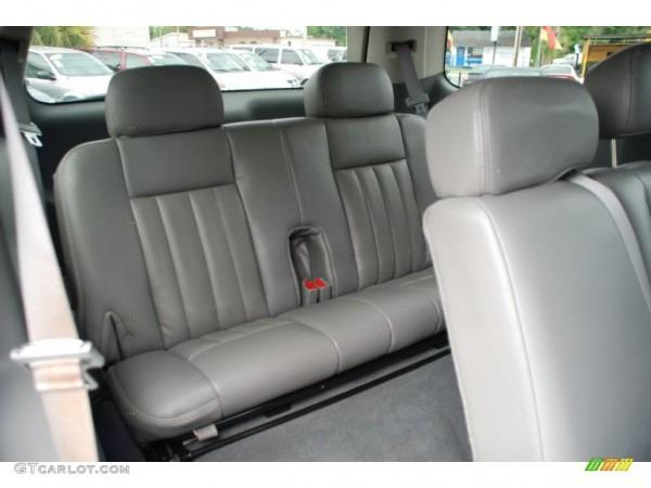 Medium Slate Gray Interior 2004 Dodge Durango Slt Photo  51072488