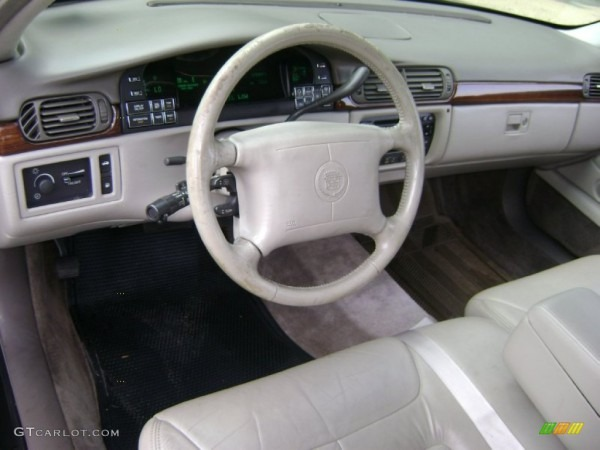 Cappuccino Cream Interior 1998 Cadillac Deville Sedan Photo