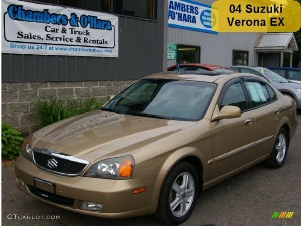 2004 Harvest Gold Metallic Suzuki Verona Ex  52200823