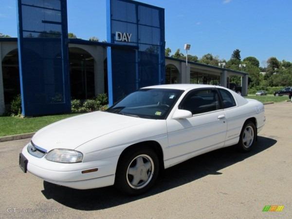 1999 Bright White Chevrolet Monte Carlo Ls  53463313