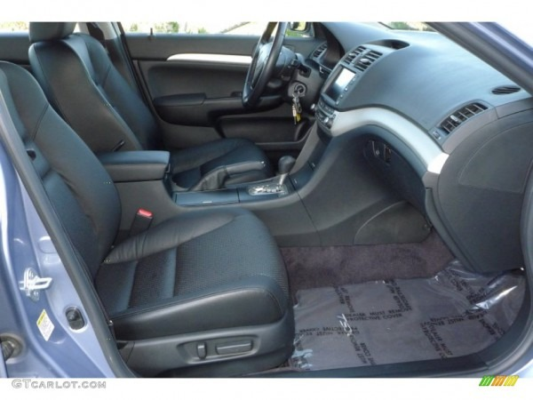 Ebony Black Interior 2006 Acura Tsx Sedan Photo  54239562