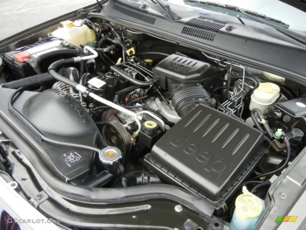 99 Jeep Grand Cherokee Engine