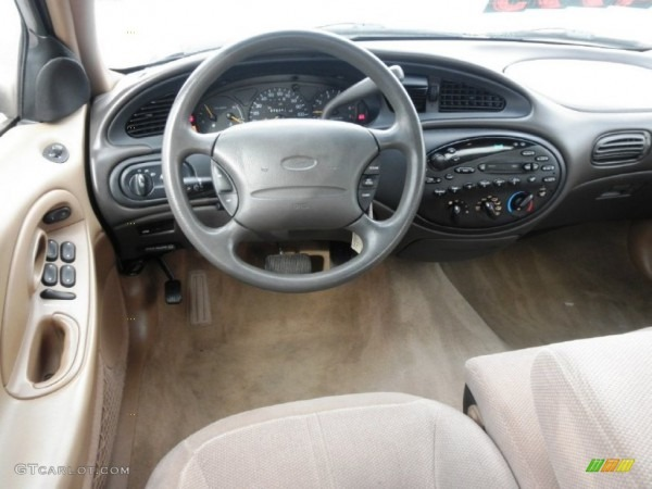 1997 Ford Taurus Gl Saddle Dashboard Photo  55414695