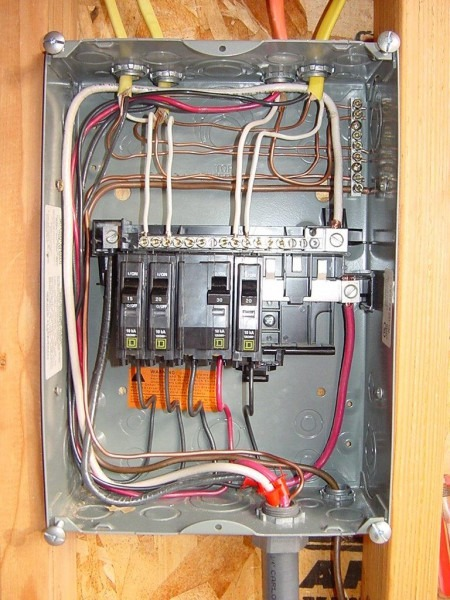 Square D Panel Breaker Box Wiring Diagram