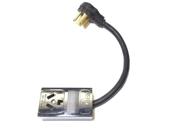 Welder Plug Power Cord Receptacle Adapter 3prong14 4pin Dryer 10