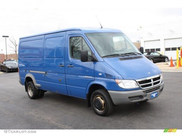 2005 Brilliant Blue Dodge Sprinter Van 3500 Cargo  62244051