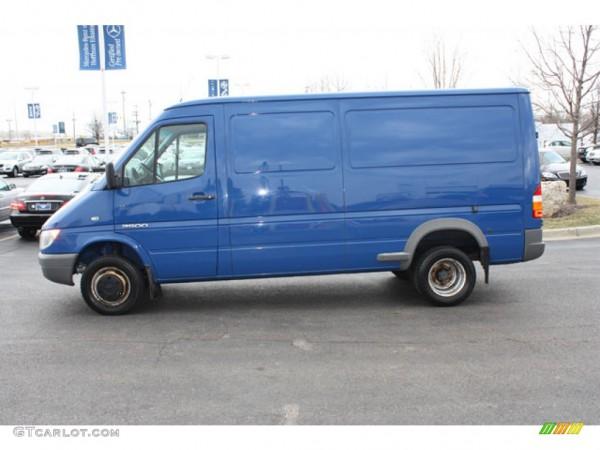 2005 Brilliant Blue Dodge Sprinter Van 3500 Cargo  62244051 Photo