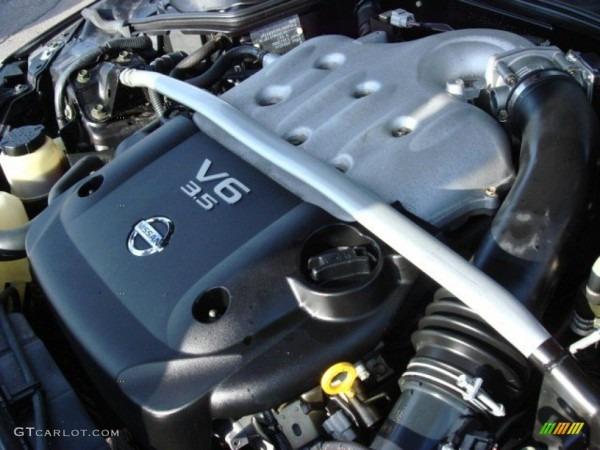 2006 Nissan 350z Coupe 3 5 Liter Dohc 24