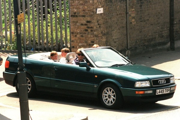 Princess Diana's 1994 Audi Cabriolet Up For Auction