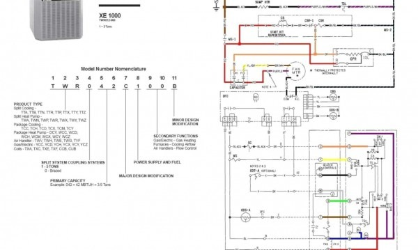 Trane Thermostat Wiring Diagram Luxury Wiring Diagram For Trane