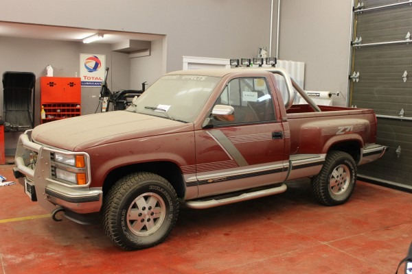 Is Barn Find 1991 Chevy C K 1500 Z71 Truck With 3 5k Miles Worth