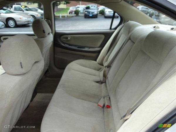 Blond Interior 2001 Nissan Maxima Se Photo  70329549