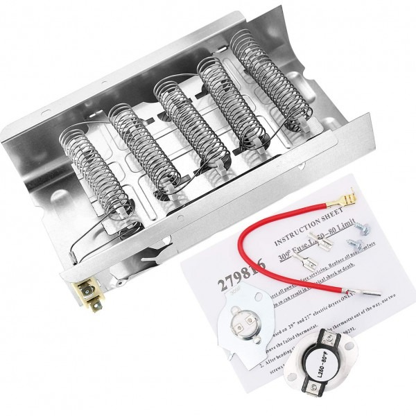 Amazon Com  279838 And 279816 Dryer Heating Element And Thermostat