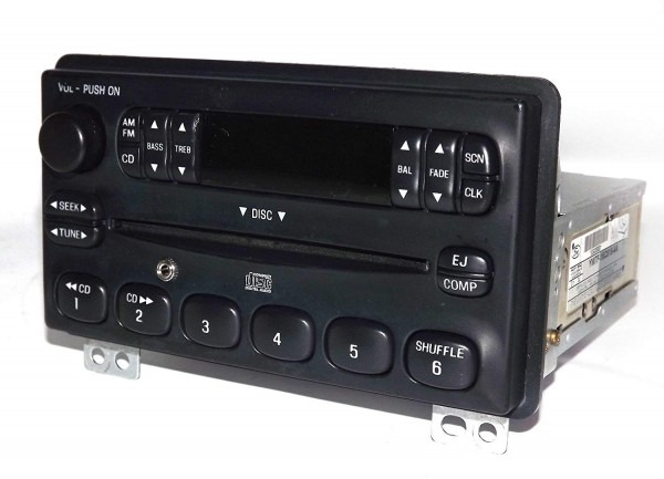 Amazon Com  Ford Explorer Am Fm Cd Radio W Aux Input For Ipod