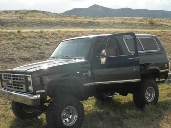 86 K5 Blazer 4x4 Lifted