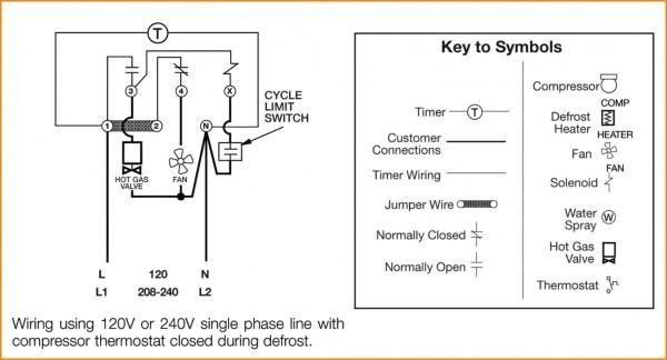 8145 Defrost Timer Wiring Diagram