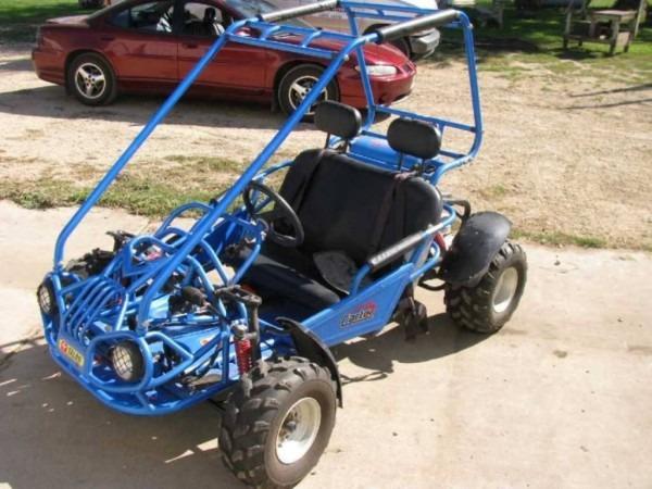 2006 Carter Talon 2 Person Go Kart, Model Gx150iir, Gas Engine