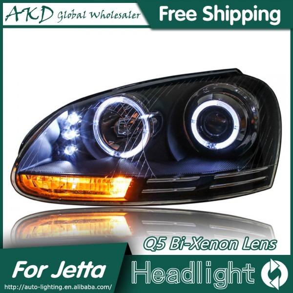 Akd Car Styling For Vw Jetta Headlights 2006 2010 Jetta Mk5 Led