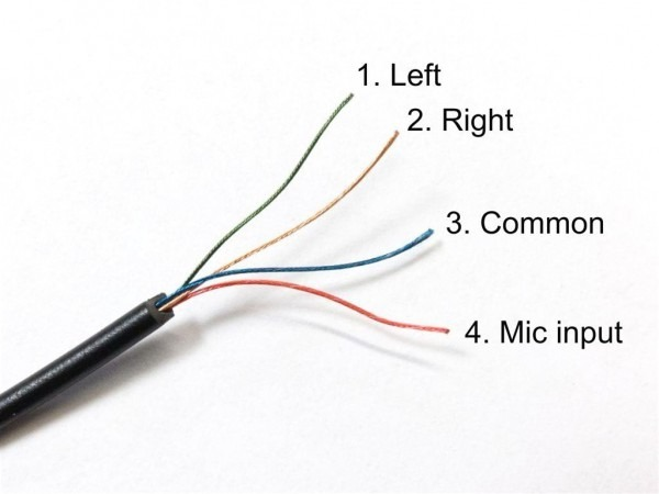 Wiring Diagrams For Earphones