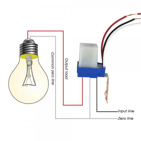 Diagram 3 Wire 12v Photo Control