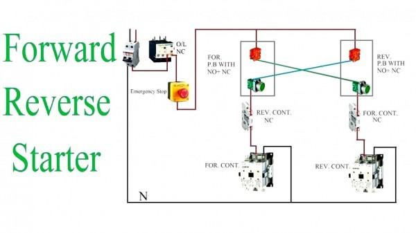Single Phase Capacitor Motor Wiring Diagram