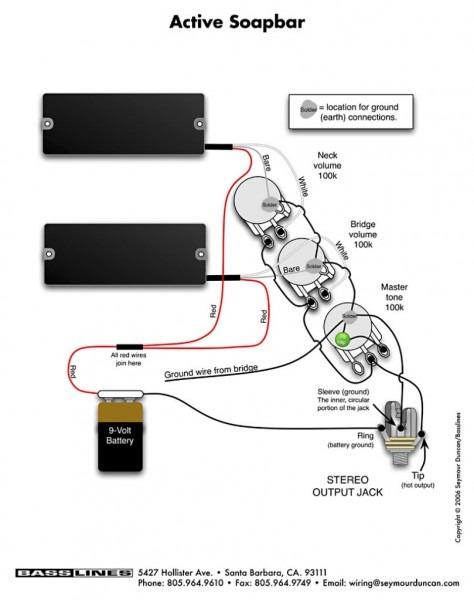 Harmony Guitar Wiring Diagram