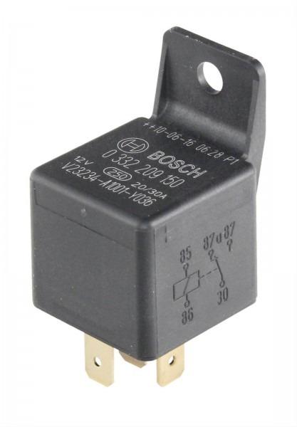 Bosch 0332209150, 12 V, 30 Amp, Male 5 Pin Terminal Relay
