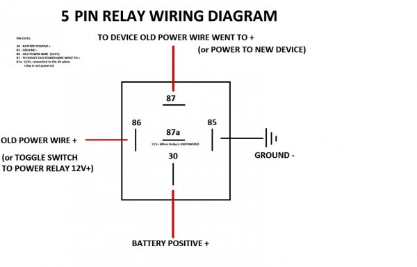 Mini Relay Wiring  U2013 Car Wiring Diagram