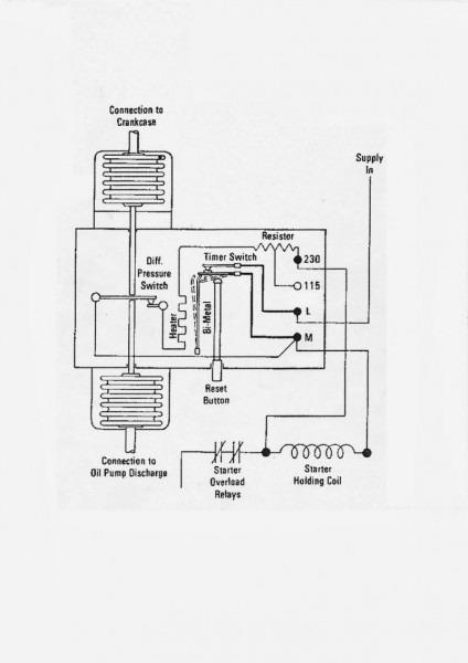 Oil Failure Conrol Wiring Diagram