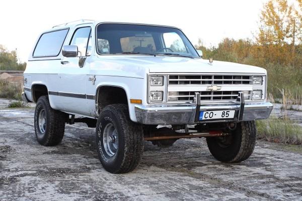 1986 Chevrolet Blazer K5 Silverado
