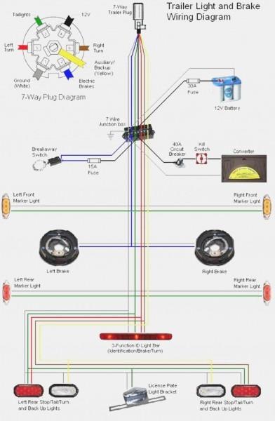 Electric Brake Wiring Schematic