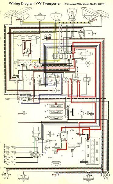 1967 Bus Wiring Diagram