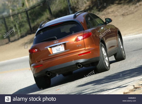 Car, Nissan Infiniti Fx45, Study, Model Year 2003 Stock Photo