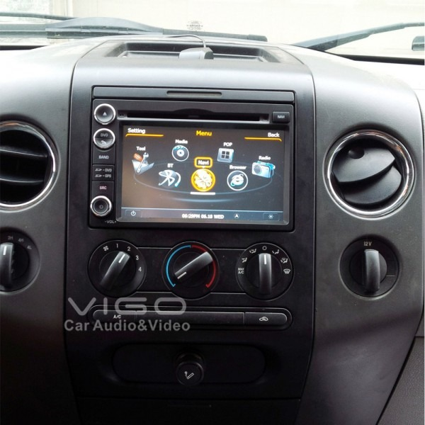 Car Stereo Gps Navigation For Ford F 150 Fusion Explorer