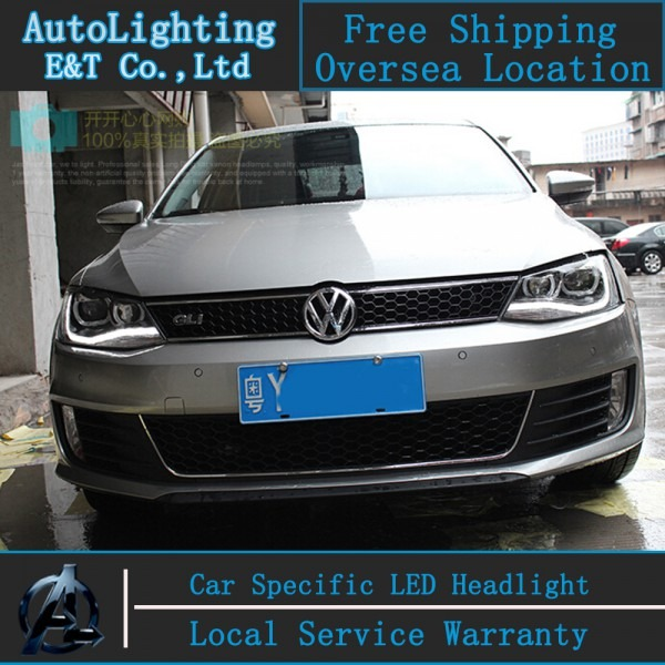 Car Styling Led Head Lamp For Vw Jetta Headlight Assembly 2011