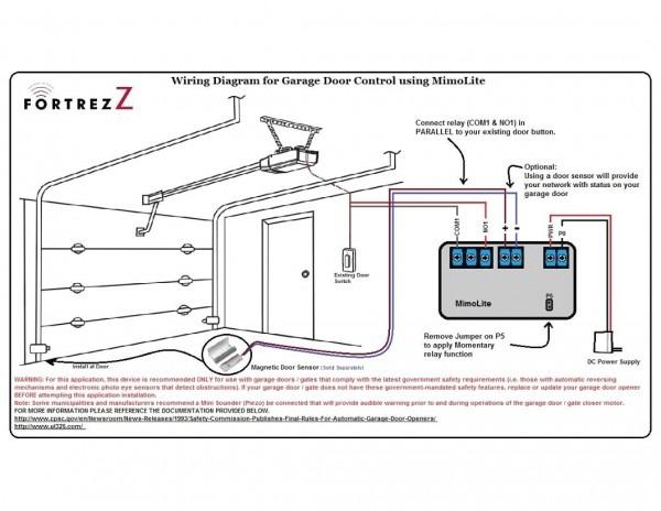 Ld050 Garage Door Wiring Diagram