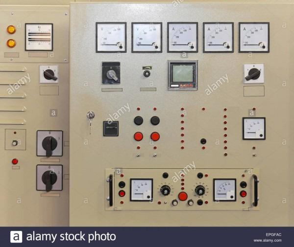 Control Panel Board Stock Photo  82727188