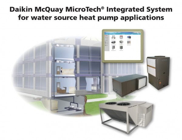 Integrated System For Water Source Heat Pump Applications