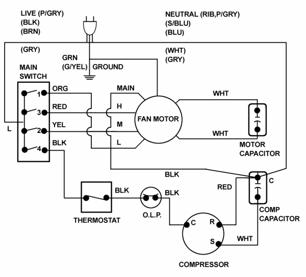 Wiring Diagrams 2004 Toyota Corolla Air Conditioning System Wiring