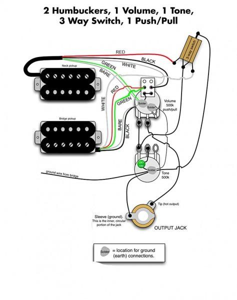 Dimarzio Wiring Color Code