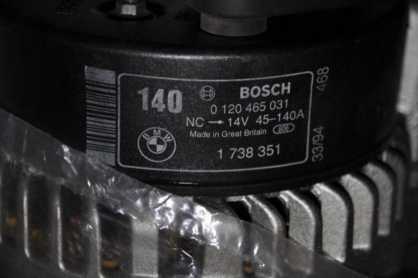 For Sale Used De Bosch Alternator Generator 0120465031 Bmw 1738351