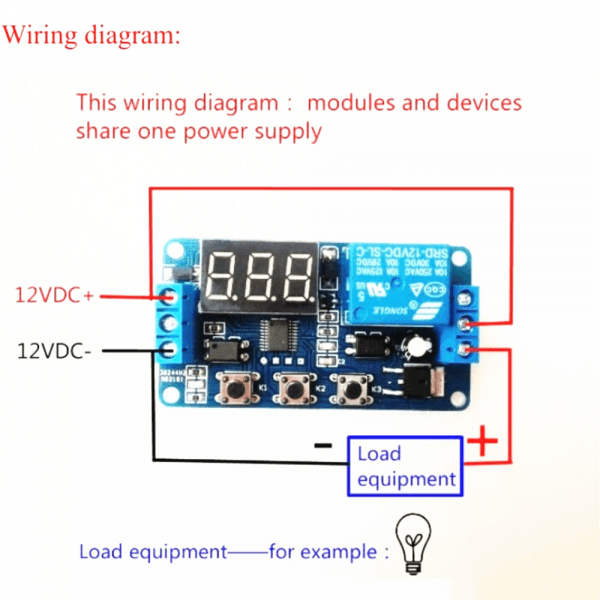 12v Timer Switch Wiring Diagram