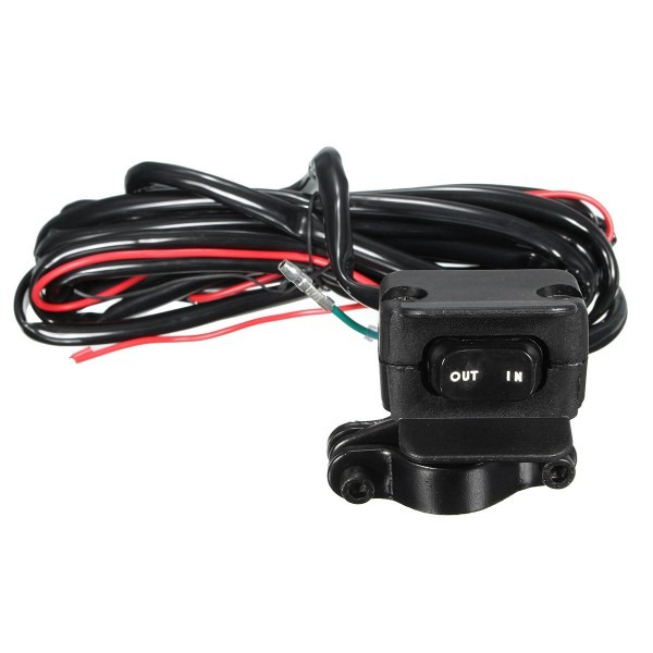 Winch Rocker Switch Handlebar Control Line Warn Atv Utv