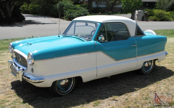 1960 Nash Metropolitan Rambler Fully Restored! 500 Miles On New