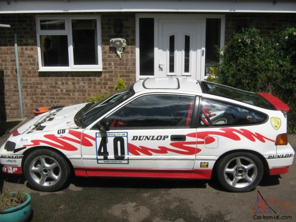 Honda Crx Challenge Car  Excellent Classic Track Toy Or Racecar